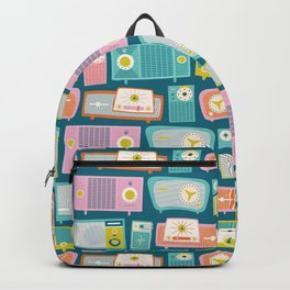 Retro Radios Backpack
