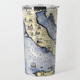 Vintage map of Italy Travel Mug
