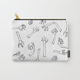Severed Hands Carry-All Pouch