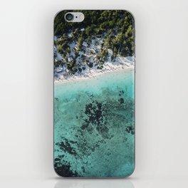 Caribbean blue beach iPhone Skin