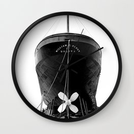 Ship William E. Corey Wall Clock