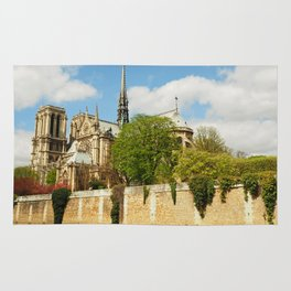 Notre Dame and the River Seine Rug
