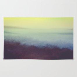 Coastal Landscape Abstract Rug