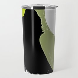 blue or green - who cares? Travel Mug