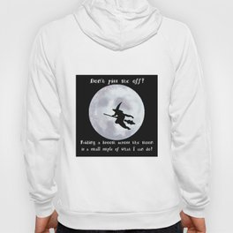 Witch, Witch Flying Across the Moon Hoody