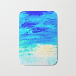 Blue Skies in Florida #4 Bath Mat