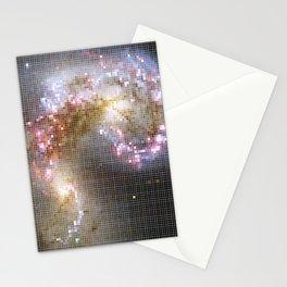 Pixel Nebula Stationery Cards