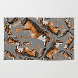 Totem Iberian wolf (GREFA) Rug