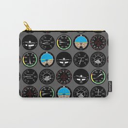 Flight Instruments Carry-All Pouch