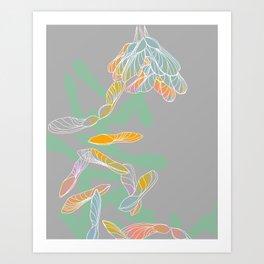 Helicoptors Art Print