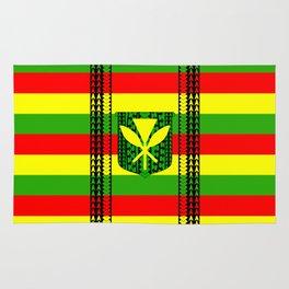 Tribal Kanaka Maoli Rug