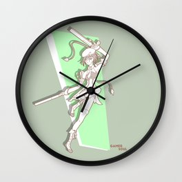Gamer Soul Fighter Line - Noel Wall Clock