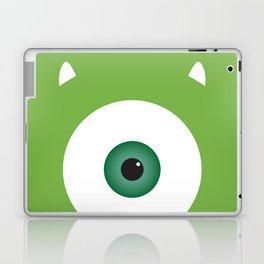 PIXAR CHARACTER POSTER - Mike Wazowski 2 - Monsters, Inc. Laptop & iPad Skin