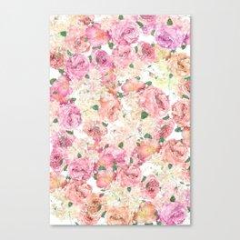 Flower Power Explosion Canvas Print