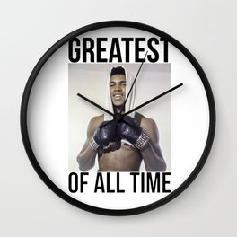 "Muhammad ""Greatest of All Time"" Ali Wall Clock"