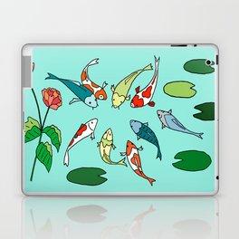 Koi Fish Meeting Laptop & iPad Skin
