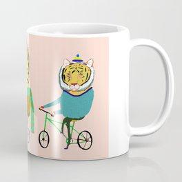 Biking Animals. Coffee Mug
