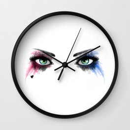 Look of Madness Wall Clock