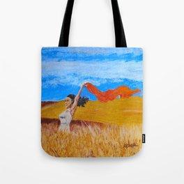 Field Frolic Tote Bag