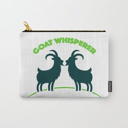 Goat Whisperer Carry-All Pouch