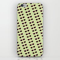 sunglasses iPhone & iPod Skins featuring sunglasses ! by 3DPIZZAPARTY