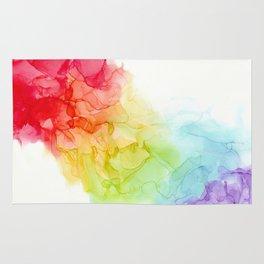 Study in Rainbow Rug