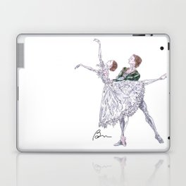 Marianela Nunez and Vadim Muntagirov in Giselle pas de deux, act 2 Laptop & iPad Skin
