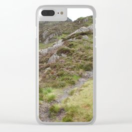 Wales Landscape 18 Cader Idris Clear iPhone Case