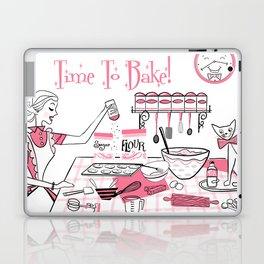 Time To Bake Laptop & iPad Skin
