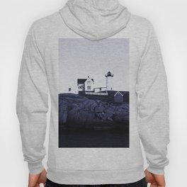 Navy Blue Lighthouse Hoody