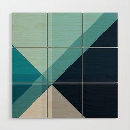 Geometric 1704 Wood Wall Art