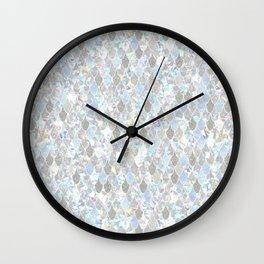Holographic Mermaid Wall Clock