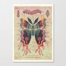 Saturnia divum orbis Canvas Print