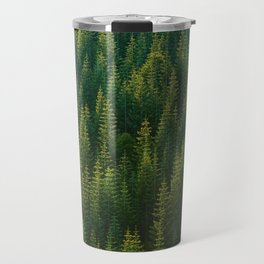 The Green Forest (Color) Travel Mug