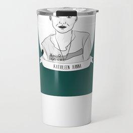 Kathleen Hanna Travel Mug