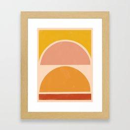 autumn sunshine 3 Framed Art Print
