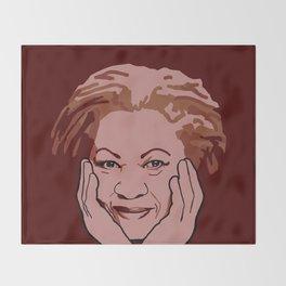 Toni Morrison Throw Blanket
