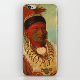 The White Cloud, Head Chief of the Iowas, Catlin iPhone Skin