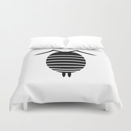 Bugs: abstract Isopod Duvet Cover