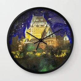 Chateau Frontenac Wall Clock