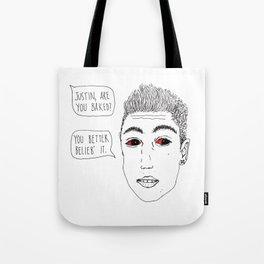 Justoned Tote Bag