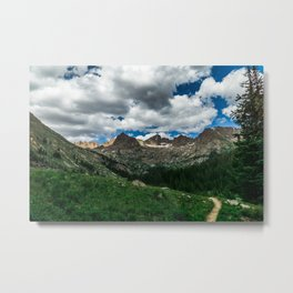 Chicago Basin Landscape Metal Print