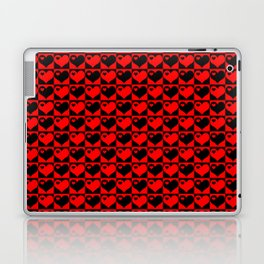 Hearts Love Collage Laptop & iPad Skin