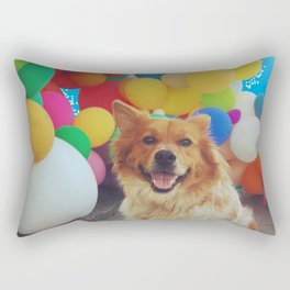 Balloon Dog Rectangular Pillow