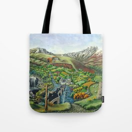 Prelude To Powys Tote Bag