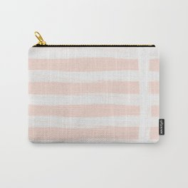 Blush Gross Stripes 2 Carry-All Pouch