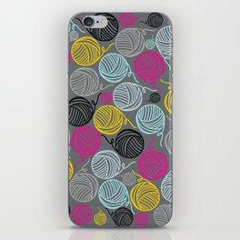 Yarn Yarn Yarn Yarn Yarn iPhone Skin