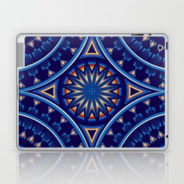 Blue Fire Keepers Laptop & iPad Skin
