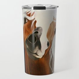 Neigh-belline Travel Mug