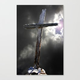 The Old Rugged Cross Canvas Print